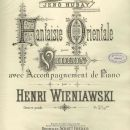 Fantaisie orientale op. 24, strona tytułowa pierwodruku / title page of the first edition